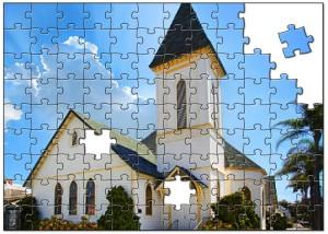 igreja peças